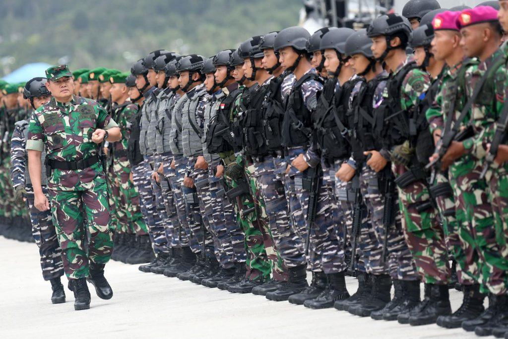 Penegakkan Kedaulatan Negara Indonesia Mengenai Daerah Kelautan